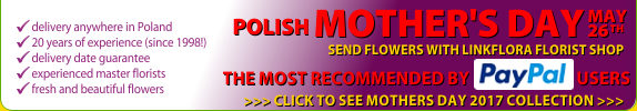 Polish Online Florist, Send Flowers to Poland