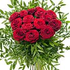 Zamów kwiaty do Polski: Bukiet 15 Róż