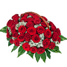 Order flowers to Poland: 35 Roses Basket