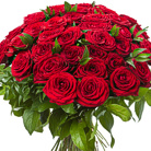 Order flowers to Poland: 40 Roses Bouquet
