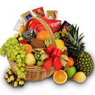 Order flowers to Poland: Fruits and Sweets Basket