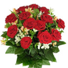 Order flowers to Poland: Sweetheart Kiss