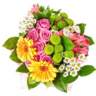 Order flowers to Poland: Spring-colored Bouquet