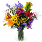 Order flowers to Poland: Lots of Colors Mixed Bouquet medium