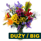 Order flowers to Poland: Lots of Colors Mixed Bouquet big