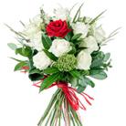 Zamów kwiaty do Polski: Bukiet Jedna na Milion (biały)