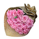 Order flowers to Poland: 20 Pink Roses Bouquet