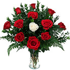 Order flowers to Poland: One in a Million Bouquet (red)