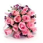 Order flowers to Poland: 15 Pink Roses Bouquet