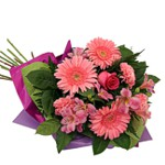 Order flowers to Poland: Pink Delight Bouquet