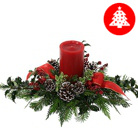 Order flowers to Poland: Christmas Sparkle Centerpiece