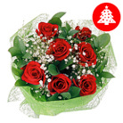 Order flowers to Poland: 7 Christmas Roses Bouquet