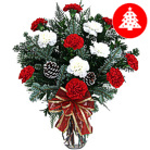 Order flowers to Poland: Merry Christmas Bouquet (carnations)