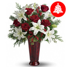 Order flowers to Poland: Christmas Wishes Bouquet