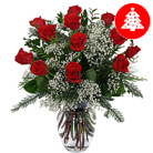 Order flowers to Poland: Merry Christmas Bouquet (roses)