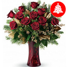 Order flowers to Poland: Elegant Christmas Bouquet