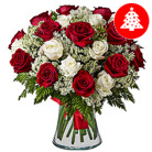 Order flowers to Poland: Spectacular Luxury Christmas Bouquet