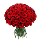 Order flowers to Poland: 69 Roses Bouquet