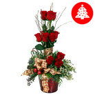 Order flowers to Poland: Christmas Spirit Arrangement