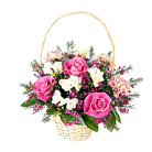 Order flowers to Poland: Angelic Basket Arrangement
