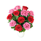 Order flowers to Poland: Red and Pink Madness Bouquet