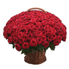 Order flowers to Poland: Only You - 199 Roses Basket