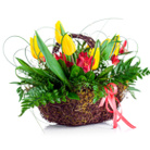 Order flowers to Poland: Spring Ray of Sunshine Arrangement