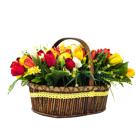 Order flowers to Poland: Tulip Madness Arrangement