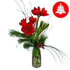 Order flowers to Poland: Christmas Amaryllis Boquuet